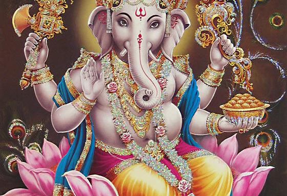 Bênçãos místicas de Ganesha